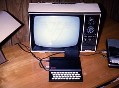 ZX81 (BlazerMan) Tags: film tv sony 110 negative scanned goldstar zx81 vanhalen taperecorder