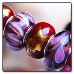 """Red-Pink-Murano-Beads • <a style=""""font-size:0.8em;"""" href=""""http://www.flickr.com/photos/11654903@N04/10634537946/"""" target=""""_blank"""">View on Flickr</a>"""