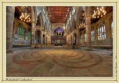 Wakefield Cathedral (setsuyostar) Tags: yorkshire churches cathedrals wakefieldcathedral photomatixpro kenhawley canoneos5dmarkii hdrtriplet october2013 autumn2013
