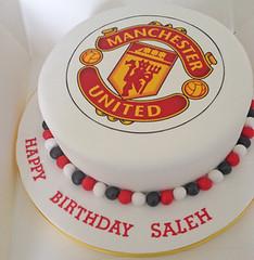 Manchester United Logo Cake