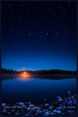 Roe Lake Stars (Maclobster) Tags: sky lake night stars columbia british caribou sheridan roe keithgrajala