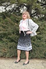 new89864-IMG_4126t (Misscherieamor) Tags: tv feminine cd tgirl transgender mature sissy tranny transvestite crossdress ts gurl polkadot tg travestis travesti travestie m2f pleatskirt xdresser tgurl silkblouse bowblouse