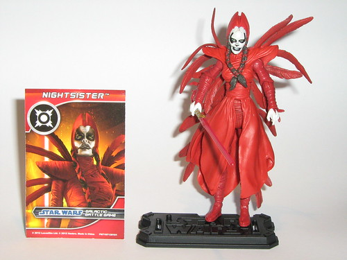 nightsister star wars the clone wars battle packs darth maul returns target exclusive 3 pack hasbro 2012 loose