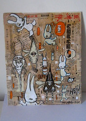 mc1984 combo (mc1984) Tags: painting paper flickr insects canvas japones combo posca mc1984 aleister236