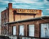 East Coast Freight (Sky Noir) Tags: old urban abandoned lines sign vintage photography coast virginia neon decay richmond east artifact freight richmondva rva skynoir