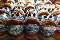 Ich wnsche allen Usern ein schnen Freitag den 13ten. - Explore 13.12.2013 (ingrid eulenfan) Tags: food cupcakes essen krmelmonster