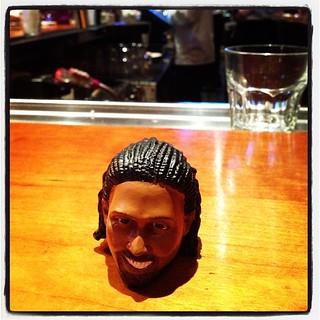 Nene's head don't bobble at the bar. #Pray4Nene