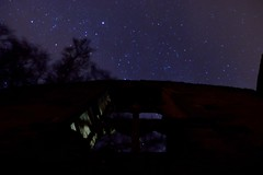 The Wall (Andy Pandy Pooh) Tags: old night stars hall astro astrophotography minster witney lovell oxforshire oldminsterlovellhall