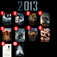Top Ten Movies of 2013 (AntMan3001) Tags: world 2 3 man trek dark this star is iron darkness mr pacific top steel ten end movies saving thor rim hobbit legend banks desolation continues anchorman smaug the worlds 2013 of into