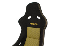 Recaro Pole Position - Custom build for GT Motoring Customer (GT Motoring) Tags: yellow race bucket stitch seat pole fabric gt custom position cr poleposition recaro motoring s08