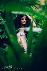 Gypsy Moon Beam (NatVon Photography) Tags: girl beauty fashion costume humboldt purple photoshoot makeup dancer tattoos greenhouse jungle hippie arcata foilage gypsy headdress nikond600 vsco natvon hsugreenhouse