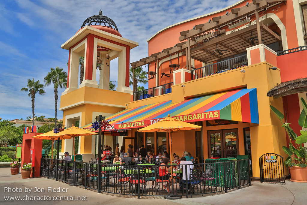 taqueria at disney character central