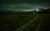[ ... follow the lights ] (D-P Photography) Tags: light green night canon island iceland chruch auroraborealis snaefellsnes nordlicht budir dpphotography