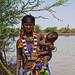 Eissa (Somali) woman with son. Border Ethiopia/Djibouti