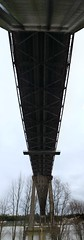 panorama-pont-d'Aquitaine-dessous (christophe surman) Tags: panorama bordeaux panoramic lookingup pontdaquitaine tteenlair aquitainebridge