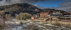 River Dee at Llangollen (johnkenyonphotography@gmail.com) Tags: river landscape photography canal viaduct hdr llangollen riverdee northwales