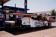 petrolstationDarwin931106 (tvantenna) Tags: car solar australia darwin adelaide outback solarcar worldsolarchallenge meadowbanktafe