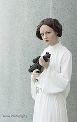 Wondercon 2014 Day 3 191 (Ivans Photography) Tags: photography princess cosplay leia ivans wondercon 2014 organa