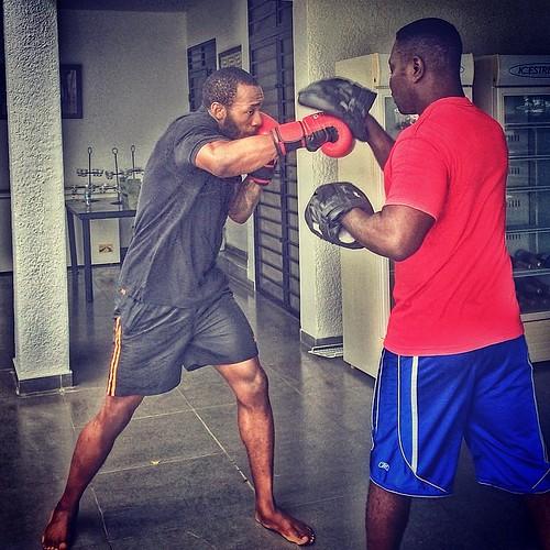 We on that boxing trainning #boxing #goodmorning @kestokest