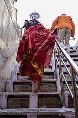 Pilgrims on the Stairs 7862 (Ursula in Aus) Tags: india architecture taj tajmahal unesco uttarpradesh earthasia