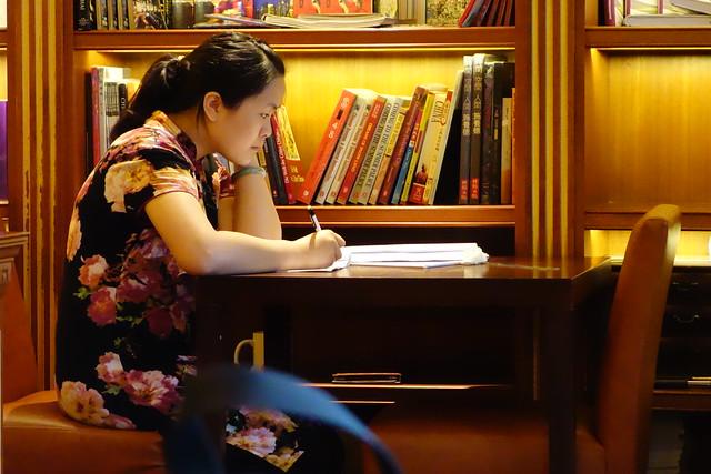 【中国,上海】张爱玲故居,用一杯咖啡时光沉醉在文学的世界中經典光學