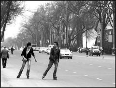 rollers (Vitaly Modlo) Tags: street white black men young rollers uzbekistan tashkent