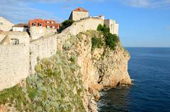 Dubrovnik, de stadsmuur bij Ispod Mira, Kroati mei 2014 (wally nelemans) Tags: croatia citywalls dubrovnik hrvatska 2014 kroati stadsmuur gradskezidine