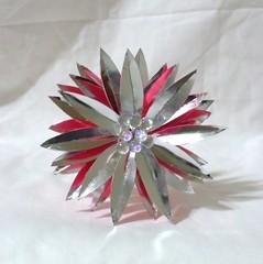 1 (EruwaedhielElleth) Tags: flower hair japanese pin handmade decorative seasonal craft clip maiko ornament fabric hana geisha tsumami accesory kanzashi zaiku