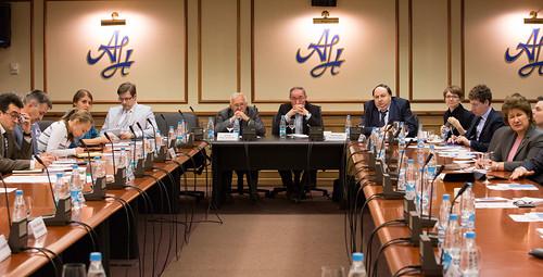 Встреча с заместителем министра иностранных дел Ирана Хади Солейманпуром, 19.06.14