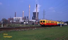 1997. TSP 4333 en NMBS 4401 te Ruien (Arno@Rsd) Tags: tsp nmbs elektriciteitscentrale ruien lijn85 reeks43 reeks44