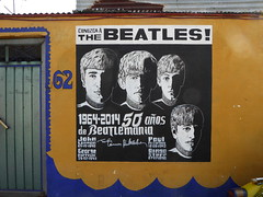 The Beatles! (duncan) Tags: graffiti mexicocity mexico df distritofederal s streetart mural beatles thebeatles beatlemania