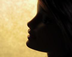 Barbie (Sky_PA (On and Off)) Tags: barbie macromondays doll silhouette lightandshadow face canon sx50 raynoxd250 macro backlight backlit portrait