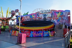 DSC02213 (A Parton Photography) Tags: fairground rides spinning longexposure miltonkeynes fireworks bonfire november cold
