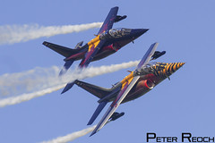 OE-FAS / Flying Bulls / Alpha Jet A (Peter Reoch Photography) Tags: airpower16 airpower airshow zeltweg austrian air flying display show aviation military aircraft force red bull bulls alpha jet trainer tiger smoke