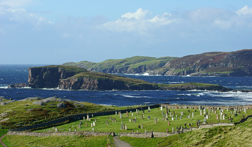 Oldshoremore Bay and Cemetery