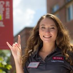 College of Sciences Ambassador Mikayli Rhoney