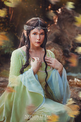 Elven Sanctuary (Natalia Le Fay) Tags: elves efl fantasy lordoftherings girl autumn magical dream natalialefay