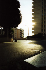 The Hairpin Bend (SkyDivedParcel) Tags: film monaco france hairpin bend formula 1 cross processed