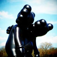 Along The Way (firstnameunknown) Tags: camerabag camerabag2 art modernart sculpture yorkshiresculpturepark landscape kaws companion