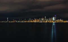 Stand Tall; Stand Alone (John Westrock) Tags: seattle cityscape longexposure city washington pacificnorthwest skyline downtown canoneos5dmarkiii canonef2470mmf28lusm