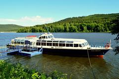 Lipnostausee,Sdbmen (Czech) (jens_helmecke) Tags: boat schiff ship lipnostausee czech tschechien wasser water nikon jens helmecke