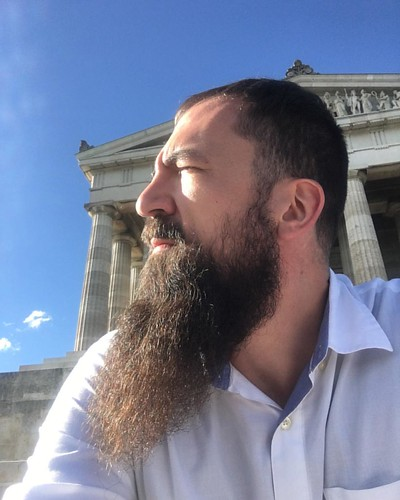 Enjoying the #view from the steps of the #Walhalla #Memorial in #Bavaria on yet another work #trip to #Germany. #adv #adventure #travel #explore #seetheworld #workabroad #beard