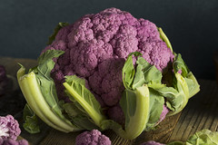 Raw Organic Purple Cauliflower (brent.hofacker) Tags: agriculture broccoli cabbage cauliflower caulis color cooking eating edible flower food fresh freshness green harvest head health healthy ingredient leaf natural nature nobody nutrition orange organic pink plant purple purplecauliflower raw red refreshment root salad summer sweet tasty uncooked unusual vegan vegetable vegetarian veggie violet vitamin wholesome