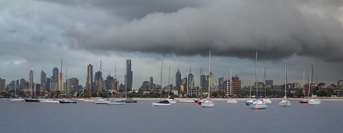 City under a cloud