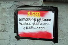 Bubba 2000 (Tim Dennell) Tags: sheffield streetart stickers paste