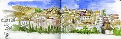 Vistas de Castro del Ro (Trushoo) Tags: castro castrodelro crdoba colejio vistas patio azulejos campanillo puerta vidrieras villa