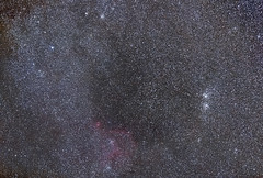 DoubleCluster&Heart_Canon6D (fabioh2o) Tags: canoneos6d canonef135mmf20lusm deepsky canon astronomy astronomia astrometrydotnet:id=nova1798272 astrometrydotnet:status=solved