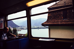 {old train} (Audrey Meffray) Tags: montreux lacléman léman genevalake suisse switzerland train rochersdenaye canon canon6d sigma35mm14art sigma 35mm 35art eos6d