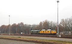 20161126 EUR BRT-91 + RRF PB06, Weert (Bert Hollander) Tags: weert wt rotterdamrailfeeding eurailscout loc pb06 motorpost exns 3032 jules mp meten herfst rrf eur trein 51205bdlwt