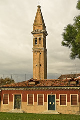 A5813VENb (preacher43) Tags: venice burano island italy san martino lace making leaning tower campanile